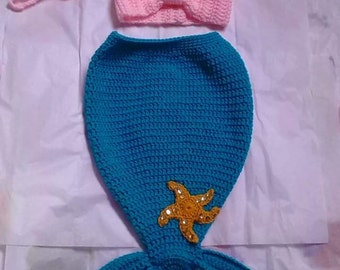 Crochet mermaid outfit