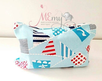 Nappy / Diaper Case Zippered Pouch / Clutch