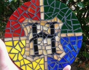 Harry Potter Hogwarts House Mosaic