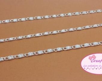 5 m chain links road railway 2x7mm