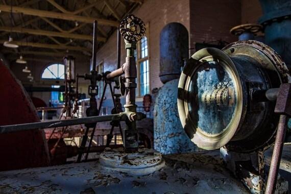 FLOWMETER ANTIQUE INDUSTRIAL machinery  FLOWMETER ANTIQ...