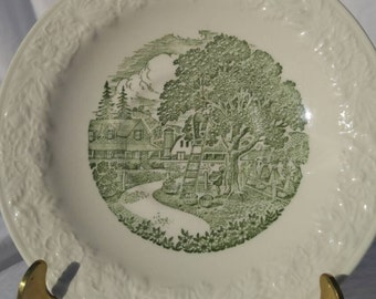 "Saucer by Taylor Smith and Taylor, ""Pastoral"""