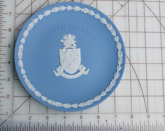 Cayman Islands Shield And Motto Wedgwood Plate