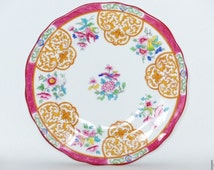 Minton Bone China plate,butterfly plate late 19th century
