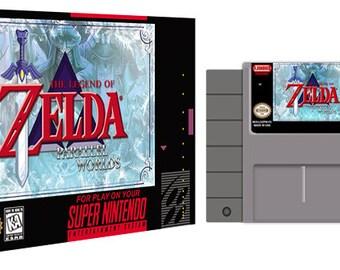 Zelda Parallel Worlds Complete Box Set