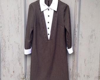 Unique Vintage Henry Lee Dress / Vintage Henry Lee Uniform