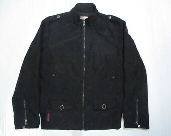 Vintage Prada Women's Jacket Zipper Size XL Made in ITALY