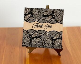 FREE SHIPPING!! Nature Inspired Mandala Thank You Card