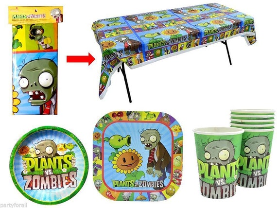 Plants vs. Zombies Birthday Party Super Combo for 6 Guest