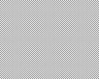 SALE!! 1 Yard Dot and Dash by Doodlebug Designs for Riley Blake Designs- 6176- Black and White