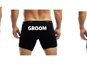 Boxers for Groom Party
