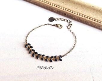 Bracelet Ayanna - black