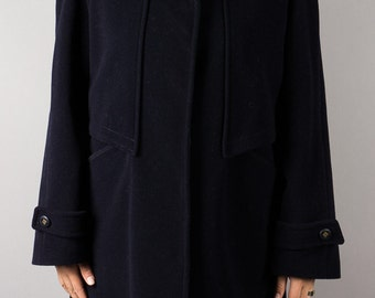 Vintage short coat dark blue - Karra