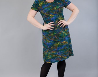 Vive Monet - vintage print dress