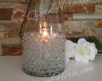 Clear Water Pearls Gels Vase Fillers 3000/5000/10000pcs Use For DIY Floating Pearl Centerpiece