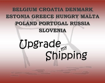 International Shipping with Tracking to SELECTED EUROPEAN COUNTRIES 1 , Postage upgrade,Tracked shipping, Shipping add on from AusPost