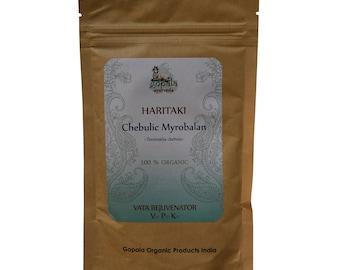 Haritaki Powder (USDA Certified Organic) - Gopala Ayurveda