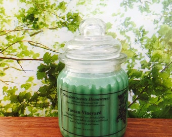 Tuscan Vineyard Scented Soy Candle