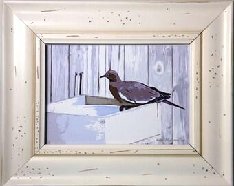 Framed Pigeon Print