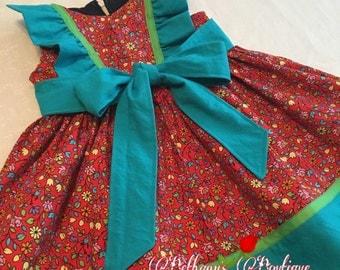 Floral Summer Dress, toddler dress