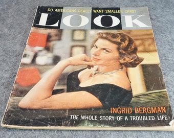 Look Magazine Featuring Ingrid Bergman