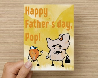 Popcorn Father's Day Card