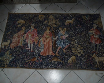 vintage, wall hanging, wall tapestry,
