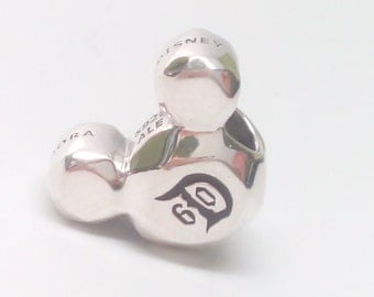 NEW Authentic Pandora Disney Park Exclusive Mickey Mouse 60 th charm