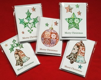 Christmas Cards Winchester Cathedral Tiles Pack of 5
