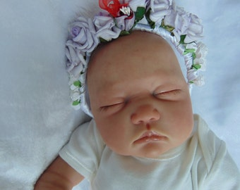 Baby girls floral crown for phot prop accesories