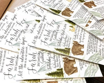 Handmade Custom Invitations & Save The Dates