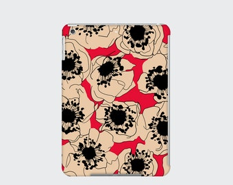 Cherry Blossom iPad Case Cover for iPad Mini iPad Air and iPad 2 3 and 4, Red
