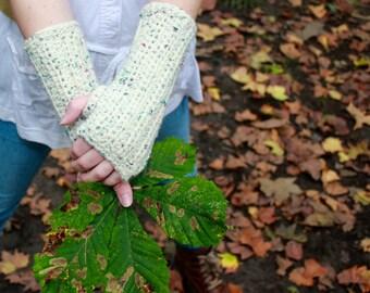 Long Wrist Warmers/ Fingerless Gloves