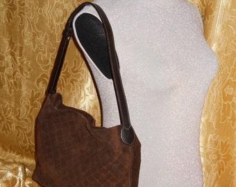 Genuine vintage Trussardi bag - genuine leather