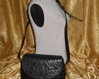 Genuine vintage Enrico Coveri shoulder bag ! Genuine leather ! Made in Italy