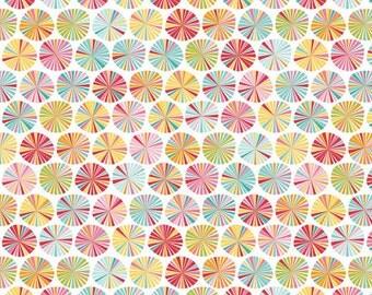 C4062-MULTI Fancy Free Pinwheels Riley Blake Designs 100% cotton One Yard