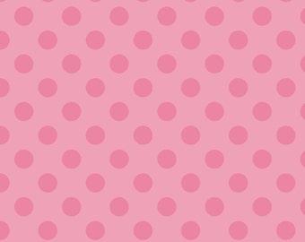 C430-70 HOT PINK Tone on Tone Medium Dot Riley Blake Designs 100% cotton, Choose your cut 1/4 yard, 1/2 yard One Yard Cuts