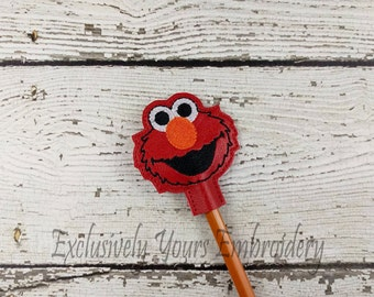 Red Monster Pencil Toppers - Classroom Prizes - Party Favor - Party Supplies - Small Gift - Back to School