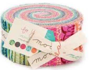 For You Jelly Roll by Zen Chic for Moda Fabrics