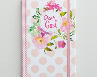 Dear God - Christian Journal - Bible Journaling Supplies