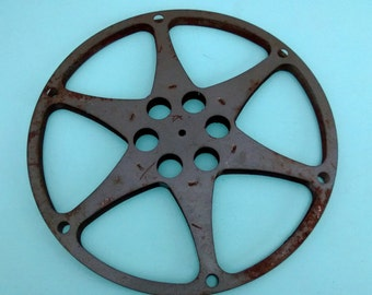 Vintage Film Reel 13 3/4 Inches Diameter Free Shipping