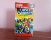Super Famicom Super Mario Kart  Repo Box NO Game Included