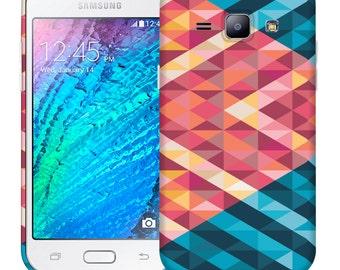 For Samsung J1 / Amp 2 Light Reflection Cool Design Hard Phone Case