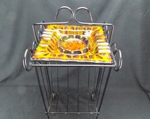 Unique Ashtray Stand Related Items Etsy