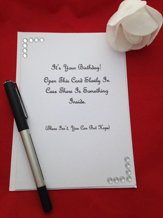 Unisex Birthday Greeting Card Happy Birthday Joke Birthday – Birthday Joke Cards