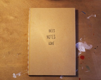 Ideas, Notes, Love.