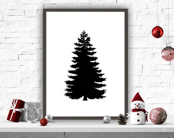 Image result for diy christmas tree print