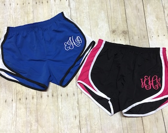 Boxer Craft Monogrammed shorts, personalized shorts, Monogrammed sports shorts  Embroidered Shorts, monogrammed runners shorts