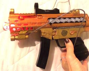 Steampunk Toy Gun Lights & Sound Space Cowboy Cosplay Costume Weapon