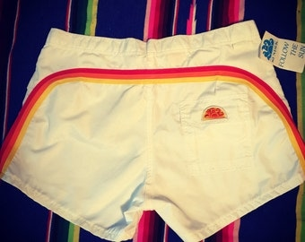 1980's Board Shorts Dead Stock With Tags